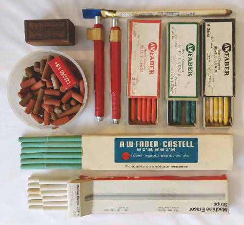Faber-Castell Machine Erasers, Markers, Leads Image